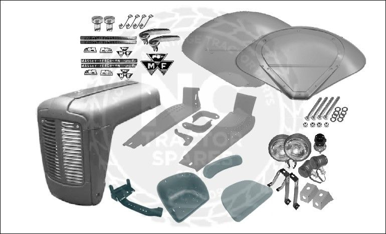Massey Ferguson 35 Body Panel Kit