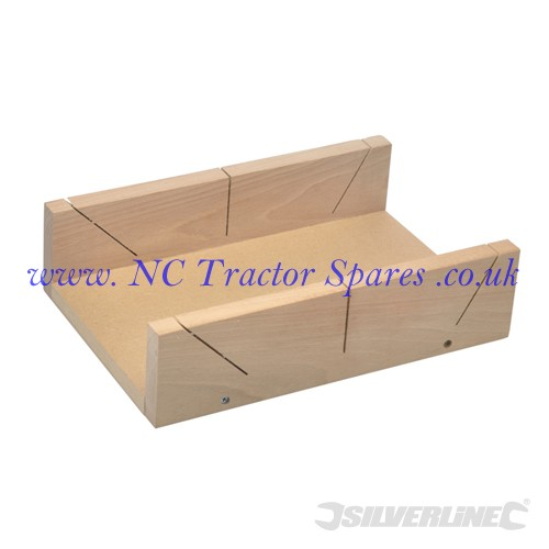 MDF-Based Mitre Box 325 x 180mm (Silverline)