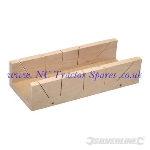 MDF-Based Mitre Box 365 x 110mm (Silverline)