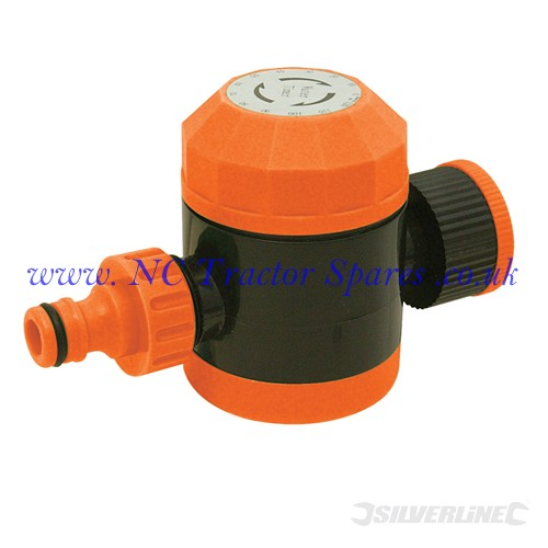 "Mechanical Water Timer 3/4"" BSP Male (Silverline)"