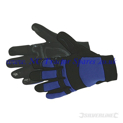Mechanics Gloves One Size (Silverline)
