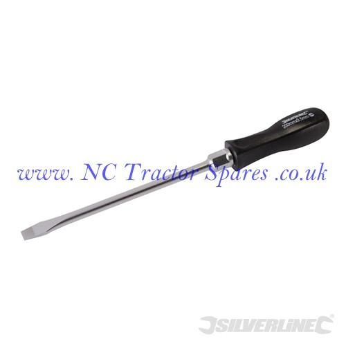 Mechanics Screwdriver Slotted 9.5 x 200mm (Silverline)