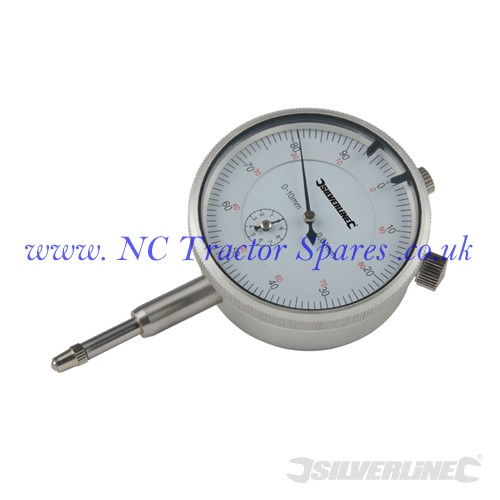 Metric Dial Indicator 0 - 10mm (Silverline)