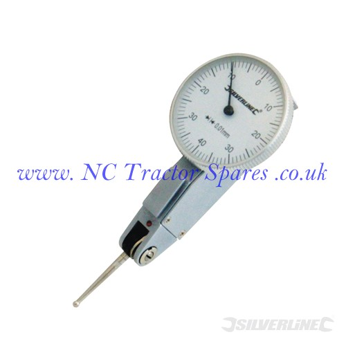 Metric Dial Test Indicator 0-0.8mm (Silverline)