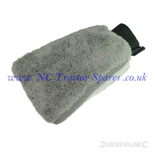 Microfibre Wash Mitt 270 x 170mm (Silverline)