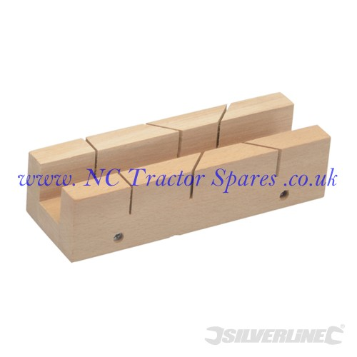 Mitre Box 190 x 25mm (Silverline)