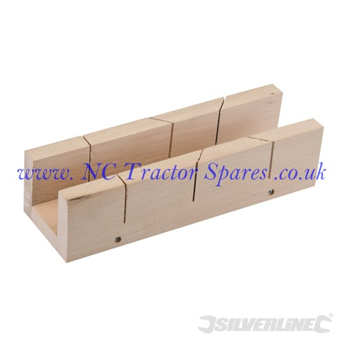 Mitre Box 290 x 50mm (Silverline)
