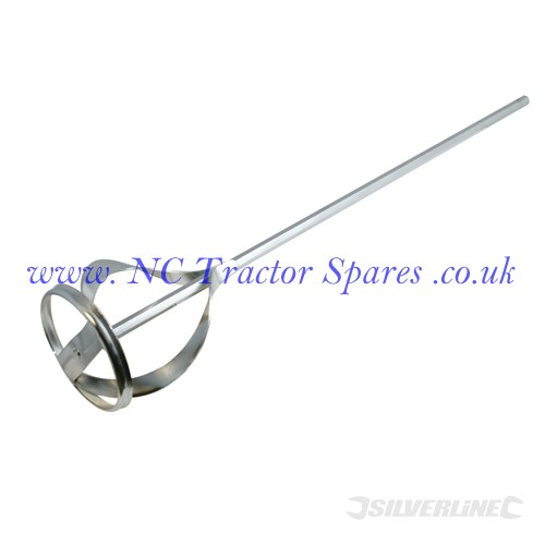 Mixing Paddle Zinc Plated 120 x 735mm (Silverline)