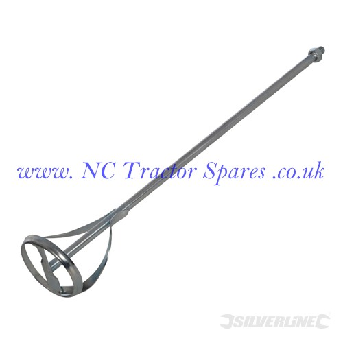 Mixing Paddle Zinc Plated 600 x 100mm (Silverline)