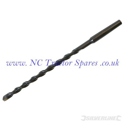 Morse Tapered Guide Drill Bit 8 x 200mm (Silverline)