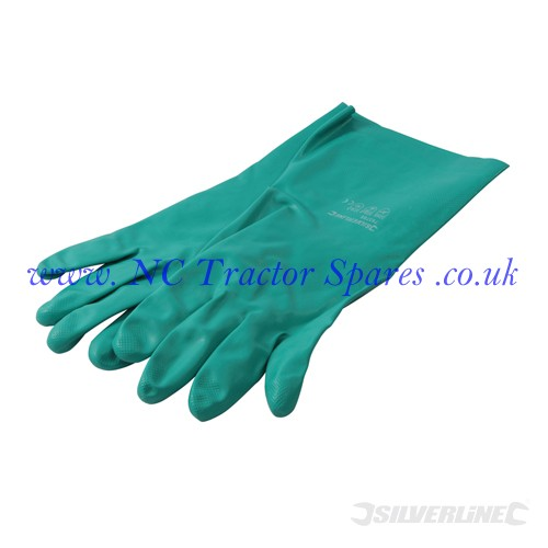 Nitrile Gauntlets One Size (Silverline)