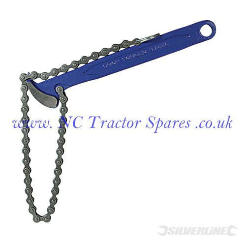Oil Filter Chain Wrench 150mm (Silverline)
