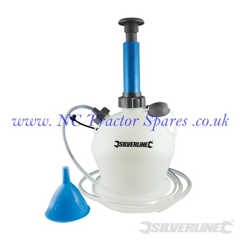 Oil & Fluid Extractor Pump 4Ltr 4Ltr (Silverline)