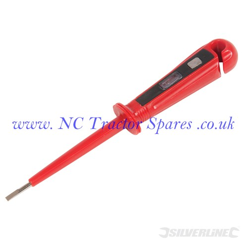 One Contact Voltage Tester 100-250V AC 150mm (Silverline)