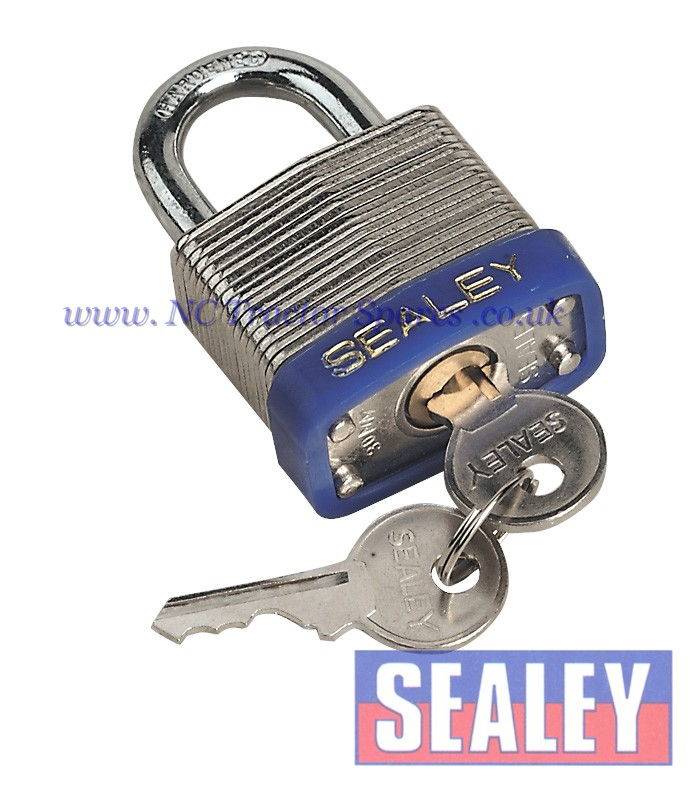 Padlock Laminated Steel with Brass Cylinder 30mm