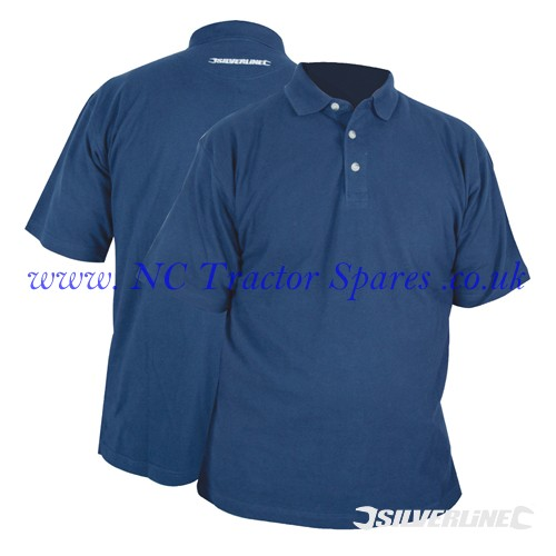 "Polo Shirt L 107cm (42"") (Silverline)"