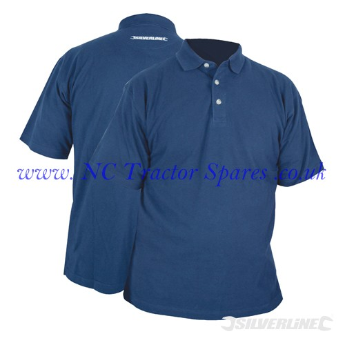"Polo Shirt XL 117cm (46"") (Silverline)"