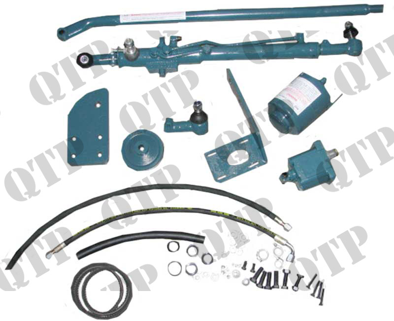 Power Steering Kit Fordson Major P on Massey Ferguson Front Axle Parts