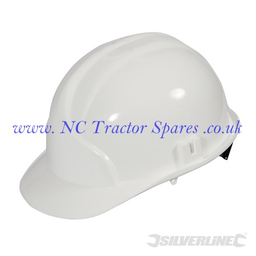Premium Hard Hat White (Silverline)