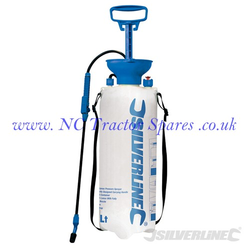 Pressure Sprayer 10Ltr 10Ltr (Silverline)