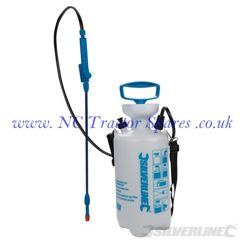Pressure Sprayer 5Ltr 5Ltr (Silverline)