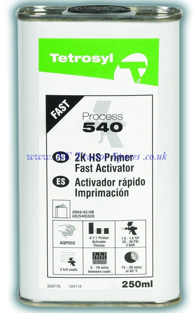 Process 540 Fast Activator 1ltr