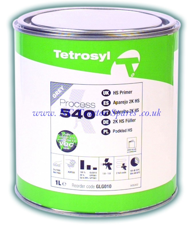 Process 540 Grey Primer 1ltr