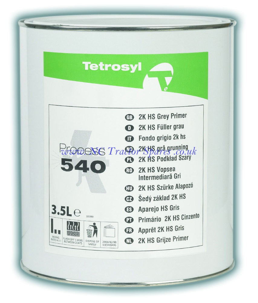 Process 540 Grey Primer 3.5ltr