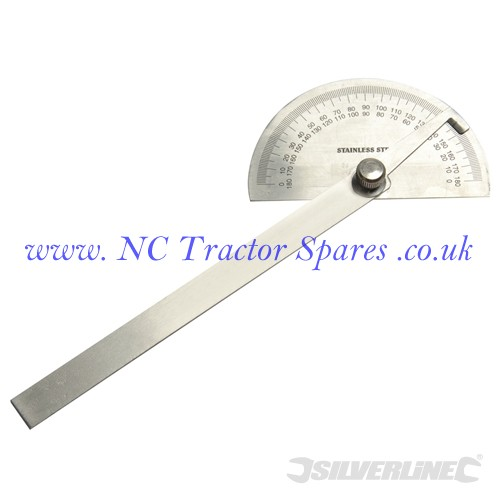 Protractor 150mm (Silverline)
