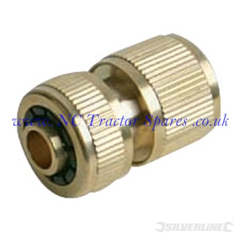 "Quick Connector Brass 1/2"" Female (Silverline)"