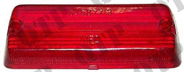 Rear Lamp Lens 100 Series Red