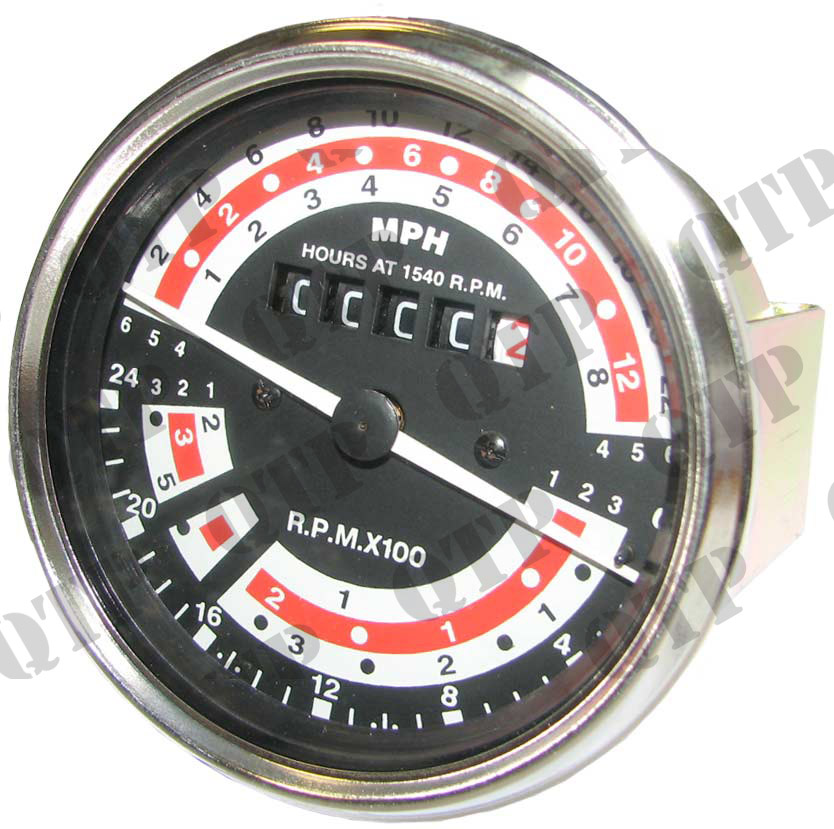 Rev Counter Clock 165 - 203 Engine