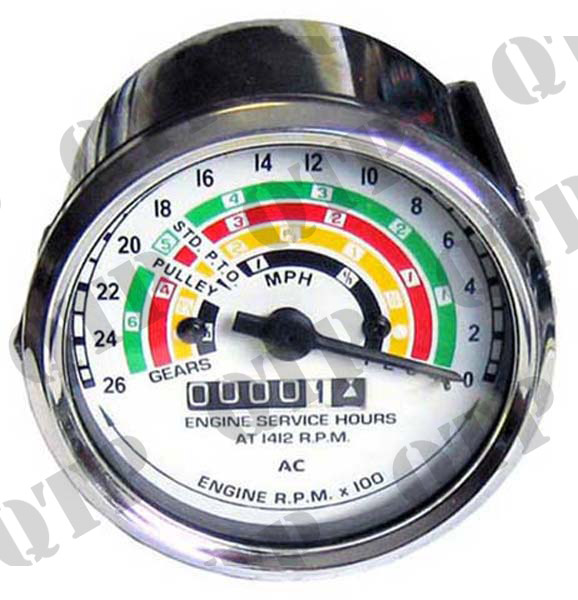 Rev Counter Clock Dexta/Super Dexta (AC Type)