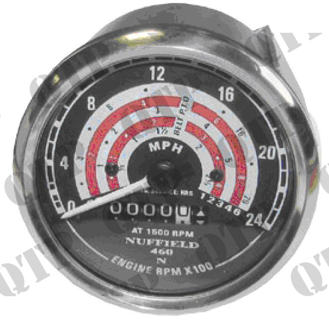 Rev Counter Clock Nuffield 4 / 60