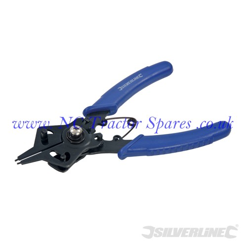 Reversible Circlip Pliers 160mm (Silverline)