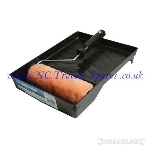 Roller & Tray Set 230mm (Silverline)