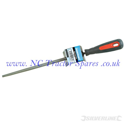 Silverline Mechanical Engineering Tri Square File 2nd Cut