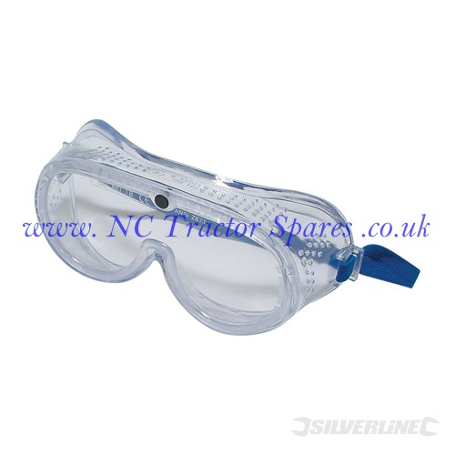 Safety Goggles Direct Direct Ventilation (Silverline)