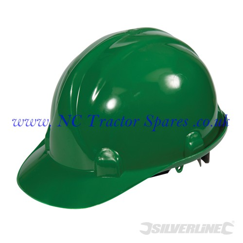 Safety Hard Hat Green (Silverline)