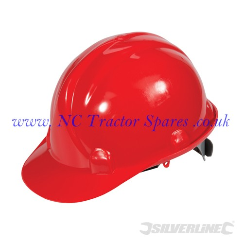 Safety Hard Hat Red (Silverline)