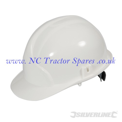 Safety Hard Hat White (Silverline)
