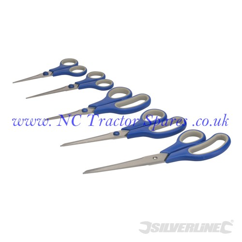 Scissor Set 5pce 5pce (Silverline)