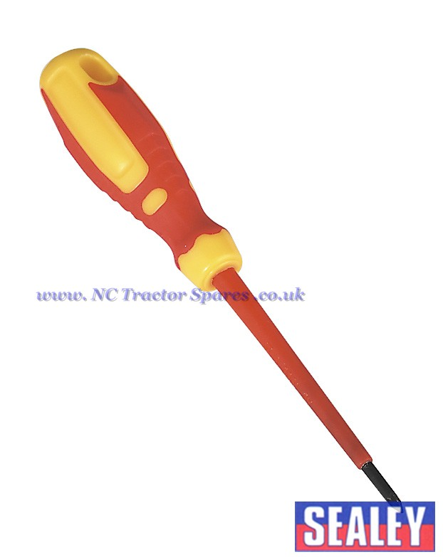 Screwdriver Pozi #0 x 75mm VDE/TUV/GS Approved GripMAX