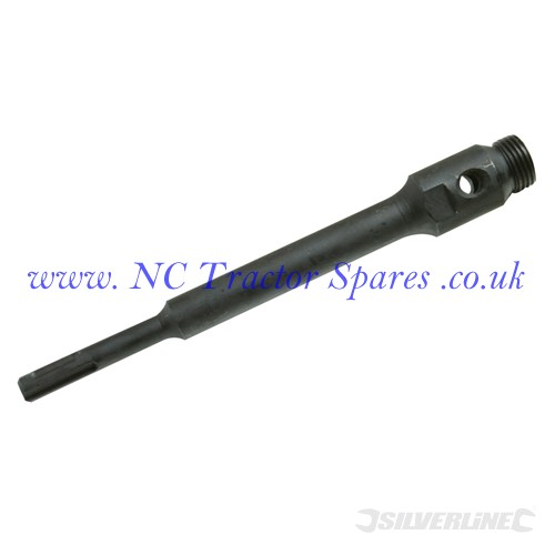 SDS Plus Core Drill Arbor 100mm (Silverline)