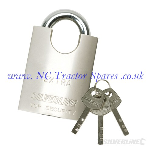 Shrouded Padlock 40mm (Silverline)