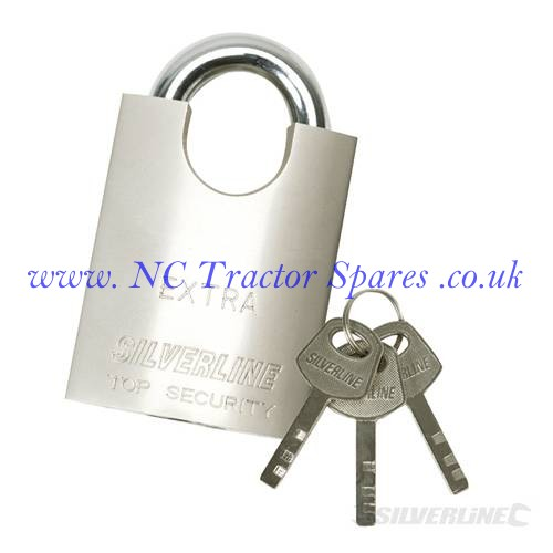 Shrouded Padlock 50mm (Silverline)