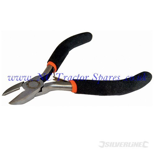 Side Cutting Electronics Pliers 110mm (Silverline)
