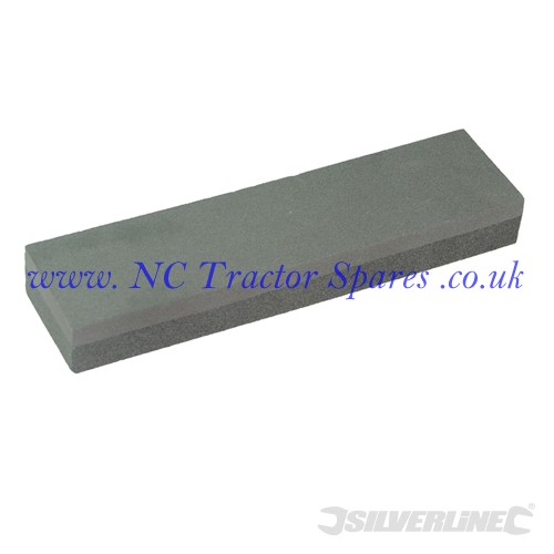 Silicon Carbide Combination Sharpening Stone 200 x 50 x 25mm (Silverline)