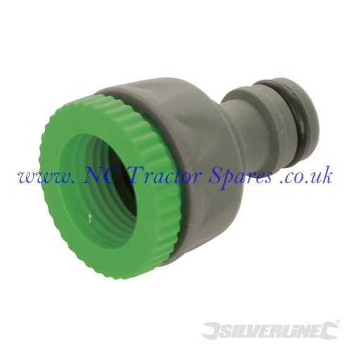 "Soft-Grip Tap Connector 1/2"" - 3/4"" Male (Silverline)"