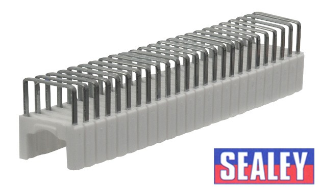 Staples 6-8mm Round 6.3 x 10.3mm Flat for CT610 Pack of 200